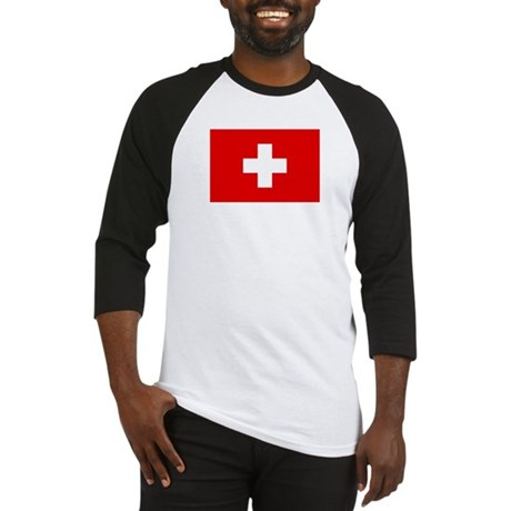 SWISS CROSS FLAG Baseball Jersey