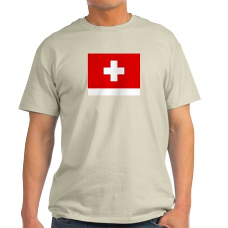 SWISS CROSS FLAG Light T-Shirt