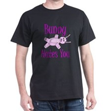 Bunny Hates You. T-Shirt