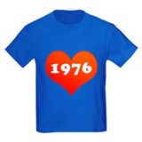 My heart is 1976 T