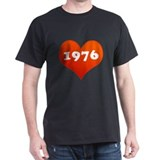 My heart is 1976 T-Shirt