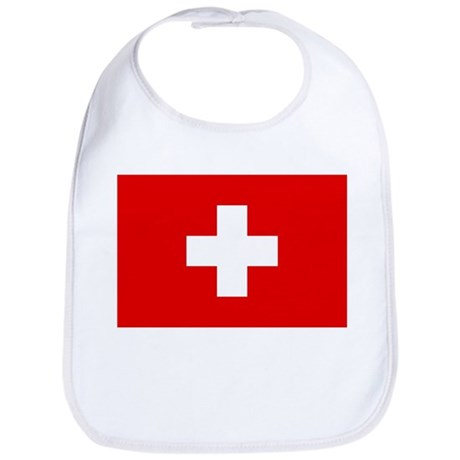 SWISS CROSS FLAG Bib