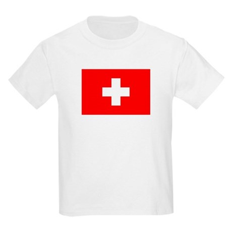 SWISS CROSS FLAG Kids T-Shirt