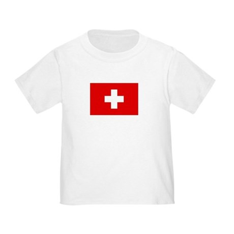 SWISS CROSS FLAG Toddler T-Shirt