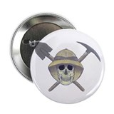 "Paleontology Skull 2.25"" Button (100 pack)"