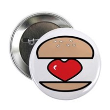 "Burger of Love 2.25"" Button"