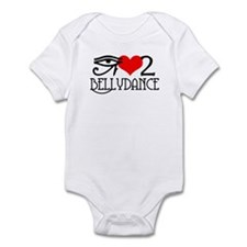 I love to bellydance Infant Bodysuit
