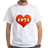 My heart is 1971 Shirt
