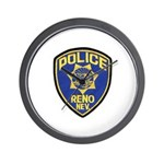 Reno Police Wall Clock