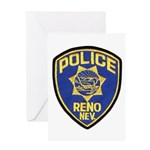 Reno Police Greeting Card