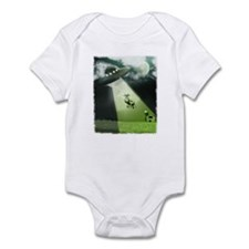 Comical Cow Abduction Onesie