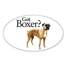 Got Boxer? Oval Decal