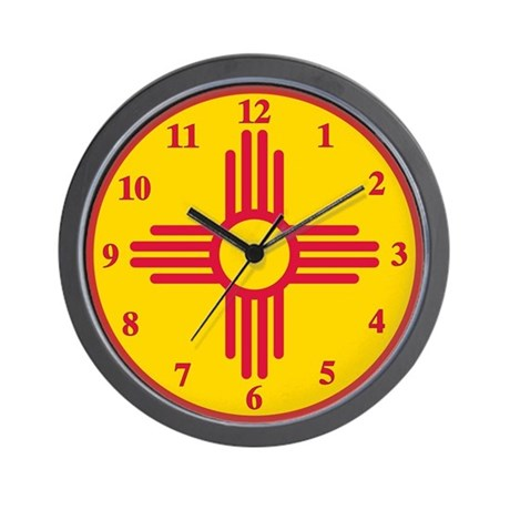 New Mexico Wall Clock