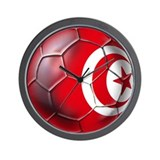 Tunisian Football Wall Clock