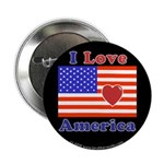Heart America Flag 2.25