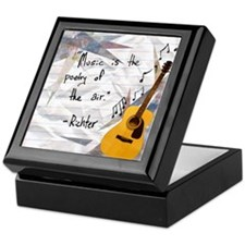 Guitar Keepsake Box
