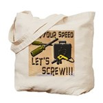 Pick Your Speed Tote Bag