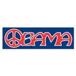 Obama Peace Bumper Sticker