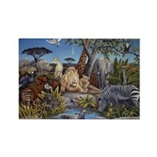 Peaceable Kingdom Rectangle Magnet