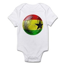 Ghana Football Infant Bodysuit
