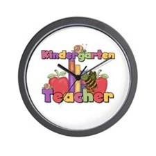 Kindergarten Teacher Wall Clock