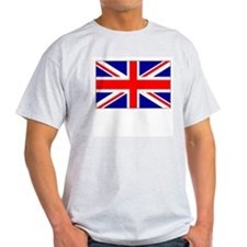 UK Union Jack Ash Grey T-Shirt