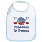 Freedom Is Sweet Americana Bib
