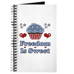 Freedom Is Sweet Americana Journal