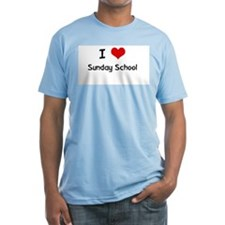 I LOVE SUNDAY SCHOOL Shirt