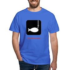 235 Fish Symbol T-Shirt