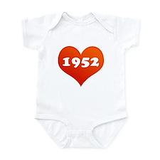 Heart of 1952 Infant Bodysuit