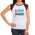 On The Chester River Women's Cap Sleeve T-Shirt
