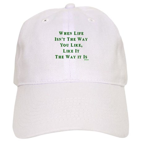 Like Life Jewish Sayings Cap