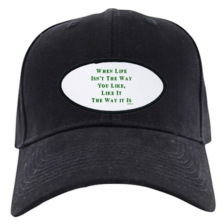Like Life Jewish Sayings Black Cap