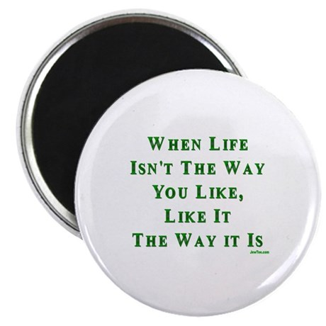 Like Life Jewish Sayings Magnet
