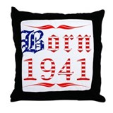 Born All American 1941 Throw Pillow