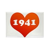 Love 1941 Rectangle Magnet (10 pack)
