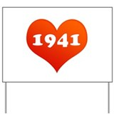 Love 1941 Yard Sign