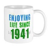 Enjoying Life Since 1941 Mug