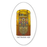1947 Rockola 1426 Jukebox Oval Decal