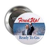 Fired Up! 2.25&quot; Button (10 pack)