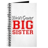 Worlds Greatest Big Sister Journal