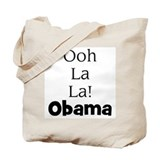Ooh La La! Obama tote