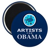 ARTISTS FOR OBAMA Magnet