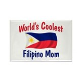 Coolest Filipino Mom Rectangle Magnet