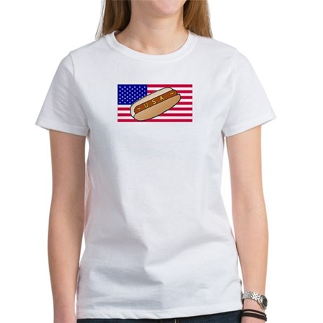 USA Hotdog Women's T-Shirt