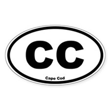 Cape Cod Oval Decal