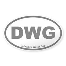 Delaware Water Gap Oval Decal