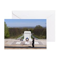 Cute National cemetery Greeting Card
