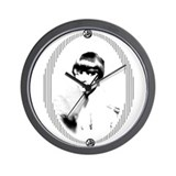 Louise brooks Wall Clock